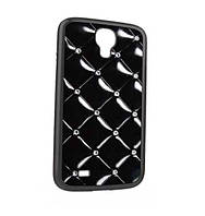 ICover Quilting cover case for Samsung i9500 Galaxy S IV, black (GS4-QT-BK)