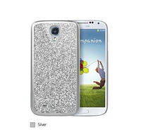 ICover Glitter cover case for Samsung i9500 Galaxy S IV, silver (GS4-CG-SL)