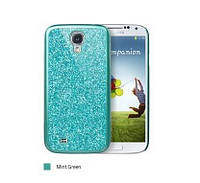 ICover Glitter cover case for Samsung i9500 Galaxy S IV, mint (GS4-CG-MT)