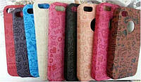 Fashion classic case with stamp for Samsung i9500 Galaxy S IV