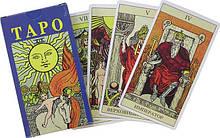 Таро Уэйта, 78 карт 12х7 см.+ инструкция на русском языке.