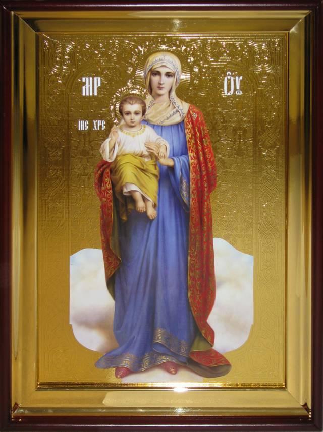 Икона в лавке -  Пресвятой Богородицы Благодатное небо