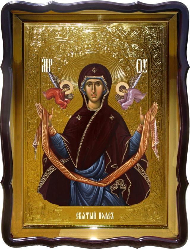 Православная икона на заказ Пояс Пресвятой Богородицы