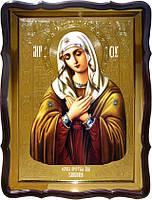 Храмовая икона Умиление Пресвятой Богородицы