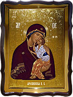 Храмовая икона Ярославская Пресвятой Богородицы