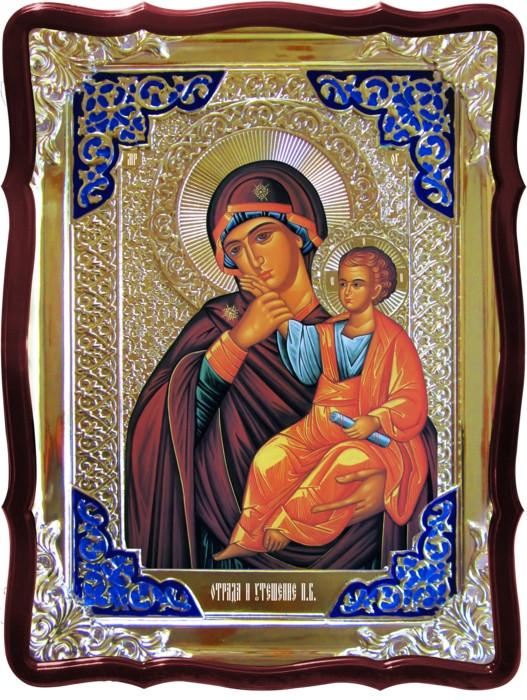 Икона в лавке -  Отрада и утешение Пресвятой Богородицы