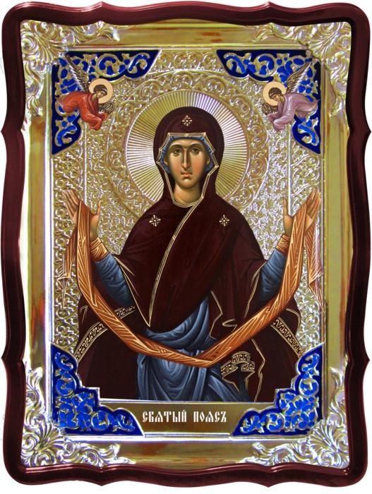 Православная икона  Пояс Пресвятой Богородицы