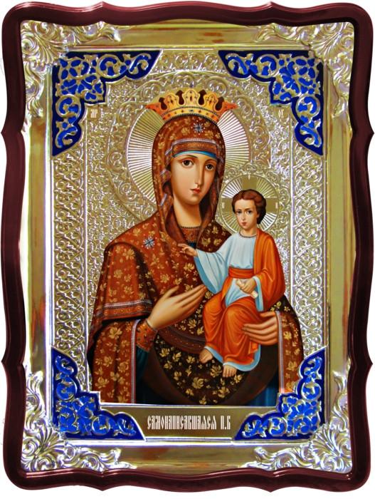 Храмовая икона Самонаписавшаяся Пресвятой Богородицы