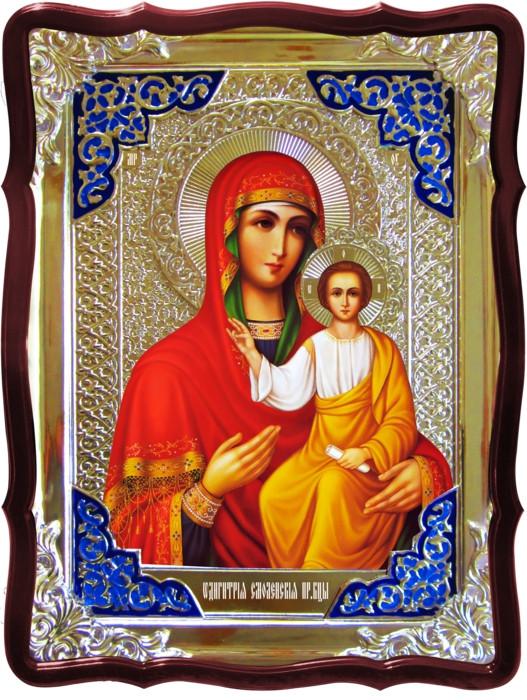 Православная икона на заказ Смоленская Пресвятой Богородицы