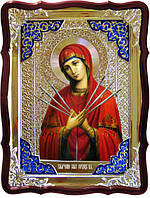 Икона в лавке -  Умягчение злых сердец Пресвятой Богородицы