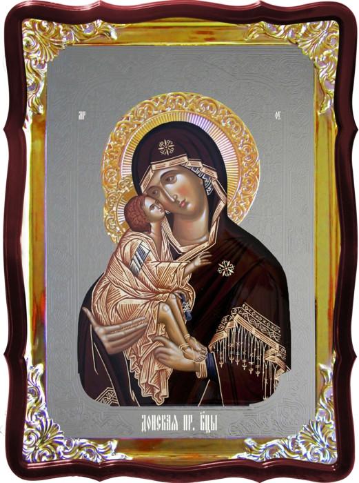 Храмовая икона Донская Пресвятой Богородицы