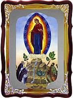 Икона в лавке -  Почаевская Пресвятой Богородицы