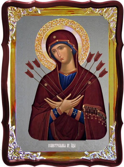 Икона Божией Матери для храма Семистрельная