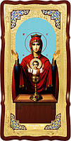 Икона Божией Матери для храма Неупиваемая чаша