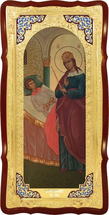 Православная икона на заказ Целительница Пресвятой Богородицы