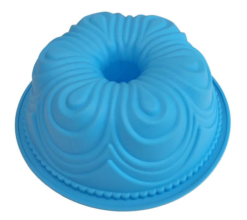 Форма силиконовая для выпечки Кекс 21 см