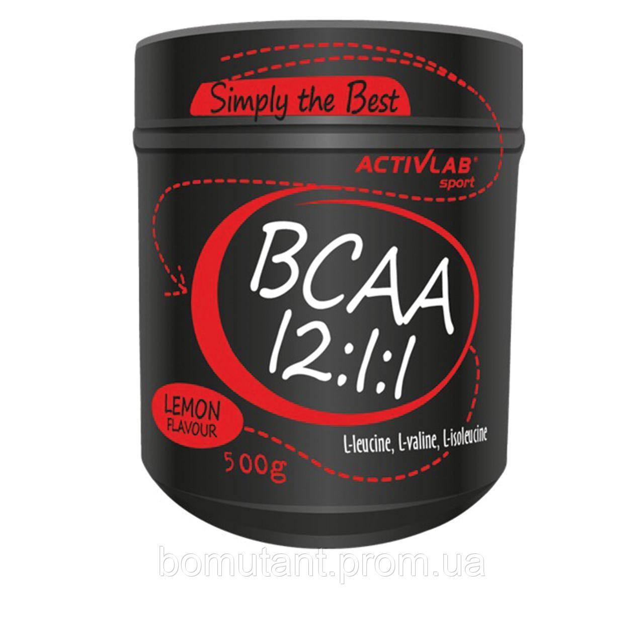 BCAA 12:1:1 500 гр grapefruit Activlab