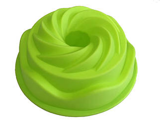 Форма силиконовая для выпечки Кекс Виток 20 см