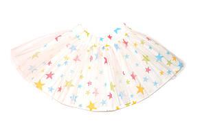 Детская пышная юбка «Звезды», пачка , юбка с фатином