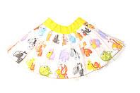 Детская пышная юбка , Пачка, «Звери»