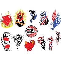 Лист для временной (переводной) татуировки №2305
