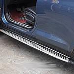 Hyundai Tucson TL 2016↗ гг. Боковые площадки Оригинальный дизайн V2 (2шт)