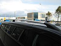 Рейлинги на крышу с пластиковыми креплениями Citroen Jumpy / Fiat  Scudo / Peugeot Expert ДЛИННАЯ БАЗА 2007-2015 под хром (полированный алюминий)