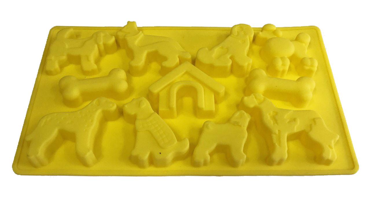 Форма силиконовая для выпечки Собачки