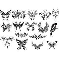 Лист для временной (переводной) татуировки №2310