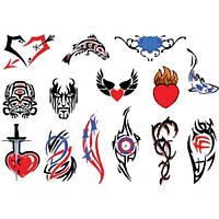 Лист для временной (переводной) татуировки №2307