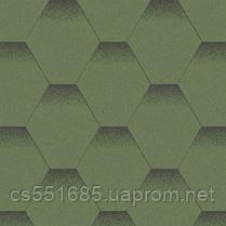 Альпийский луг. Нарезка Мозаика. Битумная черепица Aquaizol (Акваизол)