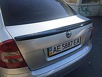Спойлер лип багажника Skoda Octavia A5 2004-2013 ABS пластик