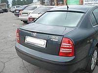 Спойлер лип багажника Skoda Superb 2002-2008 / VW Passat B5 2001-2005