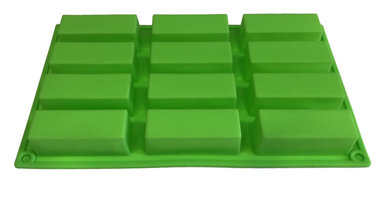 Форма силиконовая  Евродесерт 12 шт на планшете