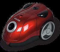 Пылесос Astor ZW-501 Red, пылесос мешковой для дома, мощный пылесос astor 1800Вт, пылесос с мешком