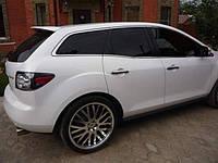 Спойлер козырек Mazda CX-7 2007-2015 ABS пластик