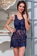 Ночнушка Mia-Mia Flamenco 2081 синий XS