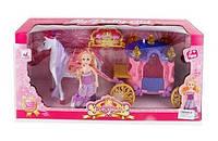 Карета с лошадью и куклой 05011