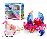 Карета с лошадкой и фигурками Свинка Пеппа 6085 PEPPA PIG