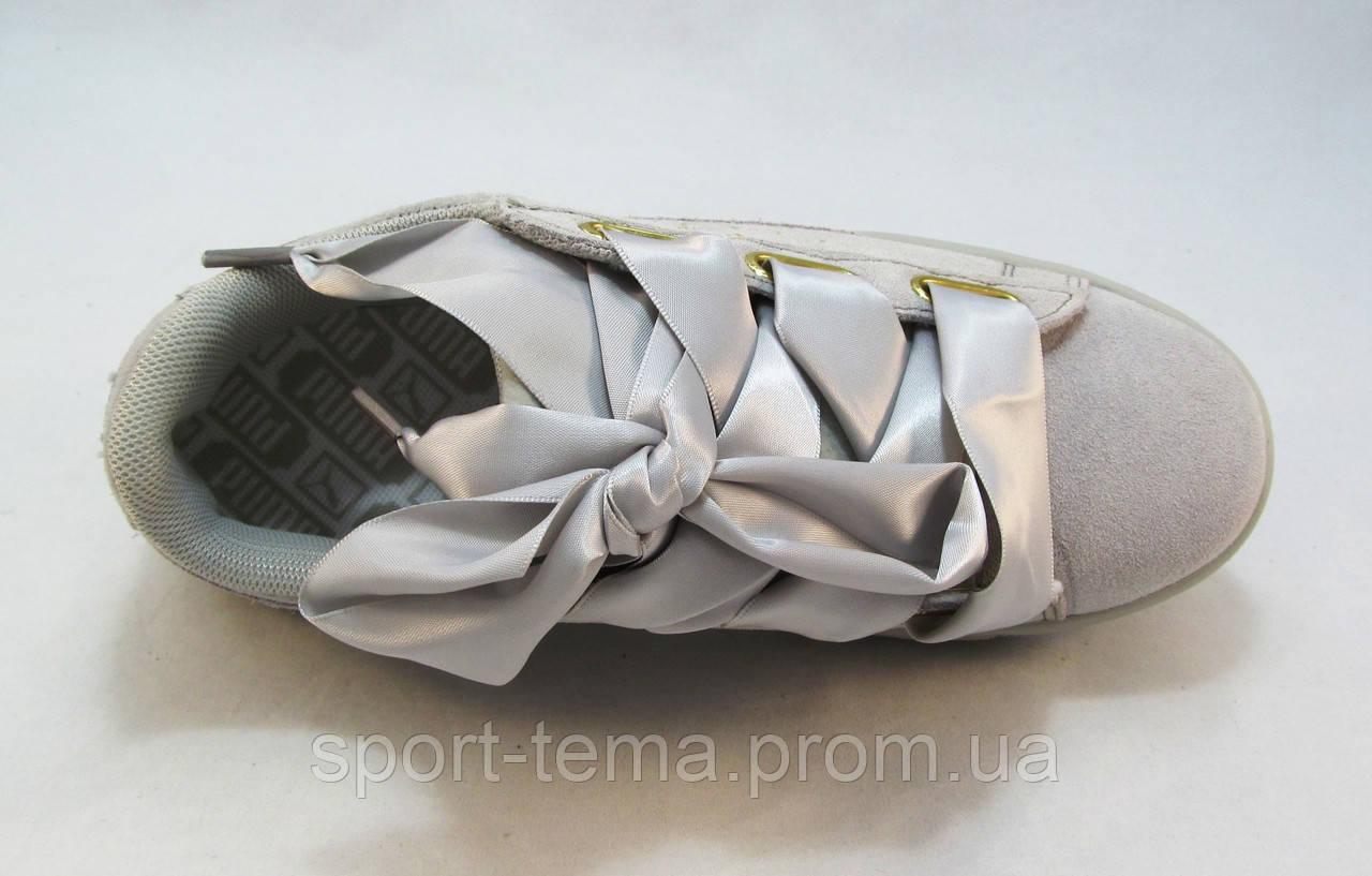 0daf482db6dc Кроссовки женские Puma Suede замшевые серые (р.36,37,39)  продажа ...