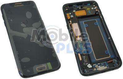 Samsung SM-G935F Galaxy S7 Edge Дисплейный модуль с сенсором, Black Injustice Edition, original
