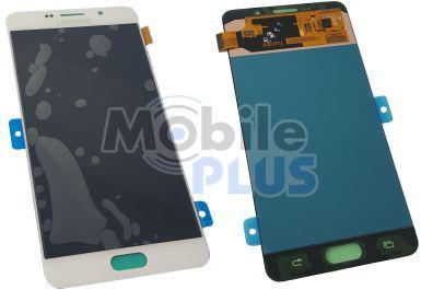 Samsung SM-A710 Galaxy A7 2016 Дисплейный модуль c сенсорным экраном, White, original (PN:GH97-18229C)