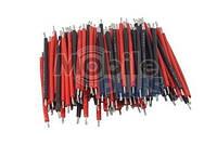 Набор монтажных проводов (красные и черные)