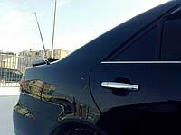 Хром накладки на ручки Toyota Avensis 03-08 / Auris 07-12 / Corolla 02-12 / Camry 30 / Terios 06- / Rav4 00-05  (нержавеющая сталь) 4 шт. обычный ключ