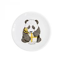 Тарелка детская D-19 см Панда (подарунок) (UA)