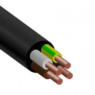 ВВГнг 4х2,5 ЗЗЦМ кабель с медными монолитными жилами