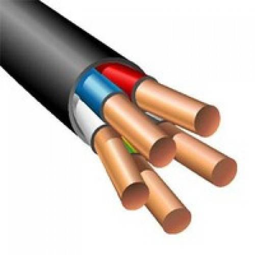ВВГнг 5х6,0 ЗЗЦМ кабель с медными монолитными жилами
