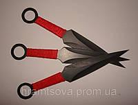 """Ножи метательные """"кунай""""- 3шт. набор в кобуре., фото 1"""