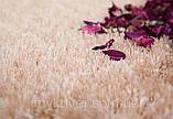 Килим высоковорсный пісочного кольору, фото 2