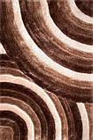 Ковер волны, коричнево белый ковер, ручной работы, фото 2